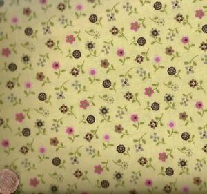 Saddle-Up-yellow-pink-floral-western-children-kids-Riley-Blake-fabric