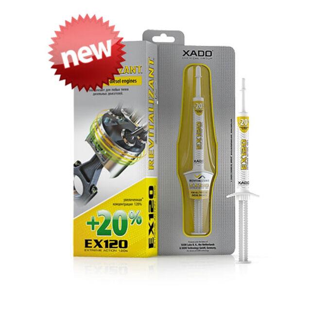 XADO EX120 Diesel Engine Oil Additive Treatment -Save fuel Reduce MOT emissions