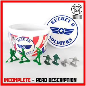 Disney-Pixar-Toy-Story-Bucket-O-Soldiers-INCOMPLETE-Play-Set-Action-Figure