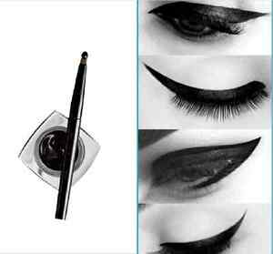 New-Black-Waterproof-Eyeliner-Liquid-Eye-Liner-Gel-Brush-Makeup-Beauty-Cosmetic