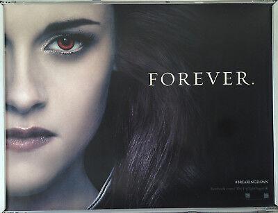 Cinema Poster Twilight Saga Breaking Dawn Part 2 2012 Kristen Stewart Quad Ebay