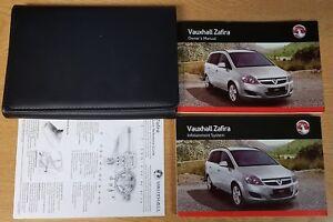 vauxhall zafira manual 2008