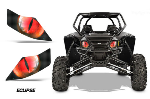 Headlight Eye Graphics Kit Decal Cover For Arctic Cat Wildcat GT//X//LTD ECLIPSE R