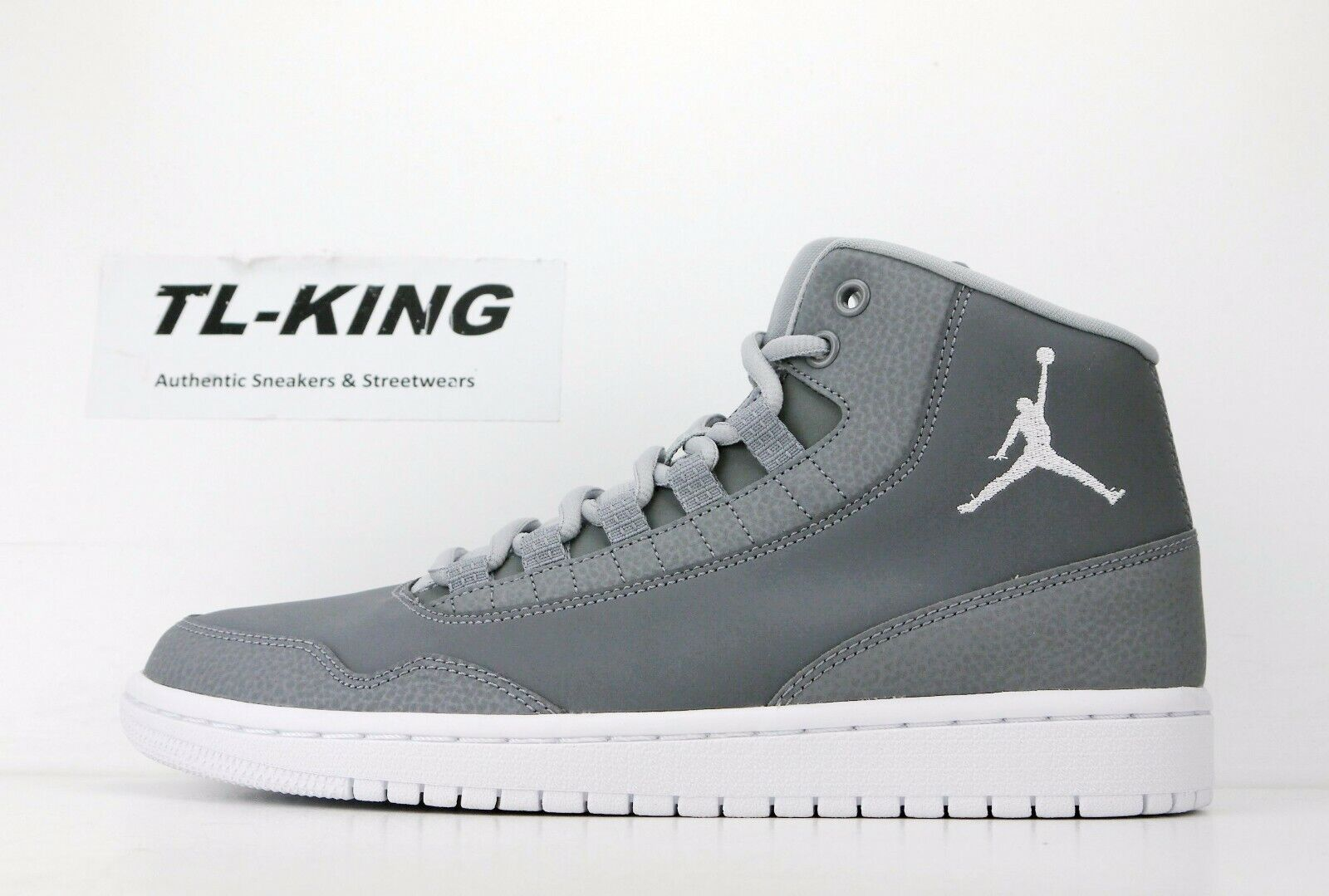 Jordan Air Nike Executive 820240 003 DE 100 Msrp Grey Wolf