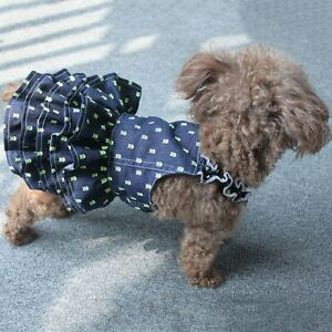 Pet-Small-Puppy-Dog-Tutu-Dress-Lace-Skirt-Cat-Princess-Dress-Clothes-Apparel-New