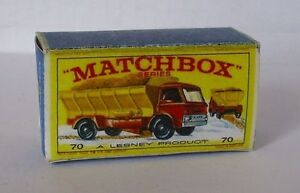Repro Box Matchbox 1:75 Nr.70 Grit Spreading Truck