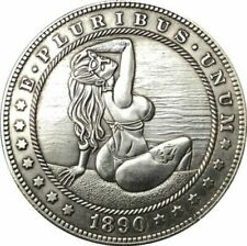 HOBO Nickel 1885-CC USA Morgan Dollar Hot Girl COIN Best Gift