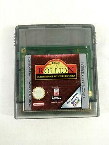 Jeu-Game-Boy-Color-en-loose-VF-Disney-Le-Roi-Lion-FRA-Envoi-rapide-et-suivi