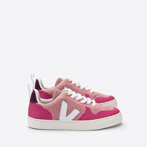 veja kids sneakers girls size 34 pink