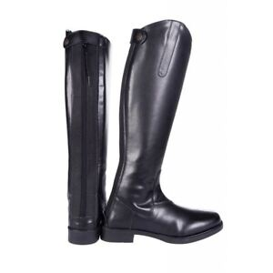 708e624930f1df Equestrian HKM Junior Ladies Style Elasticated Waterproof Rubber Sole Horse  Riding Boots