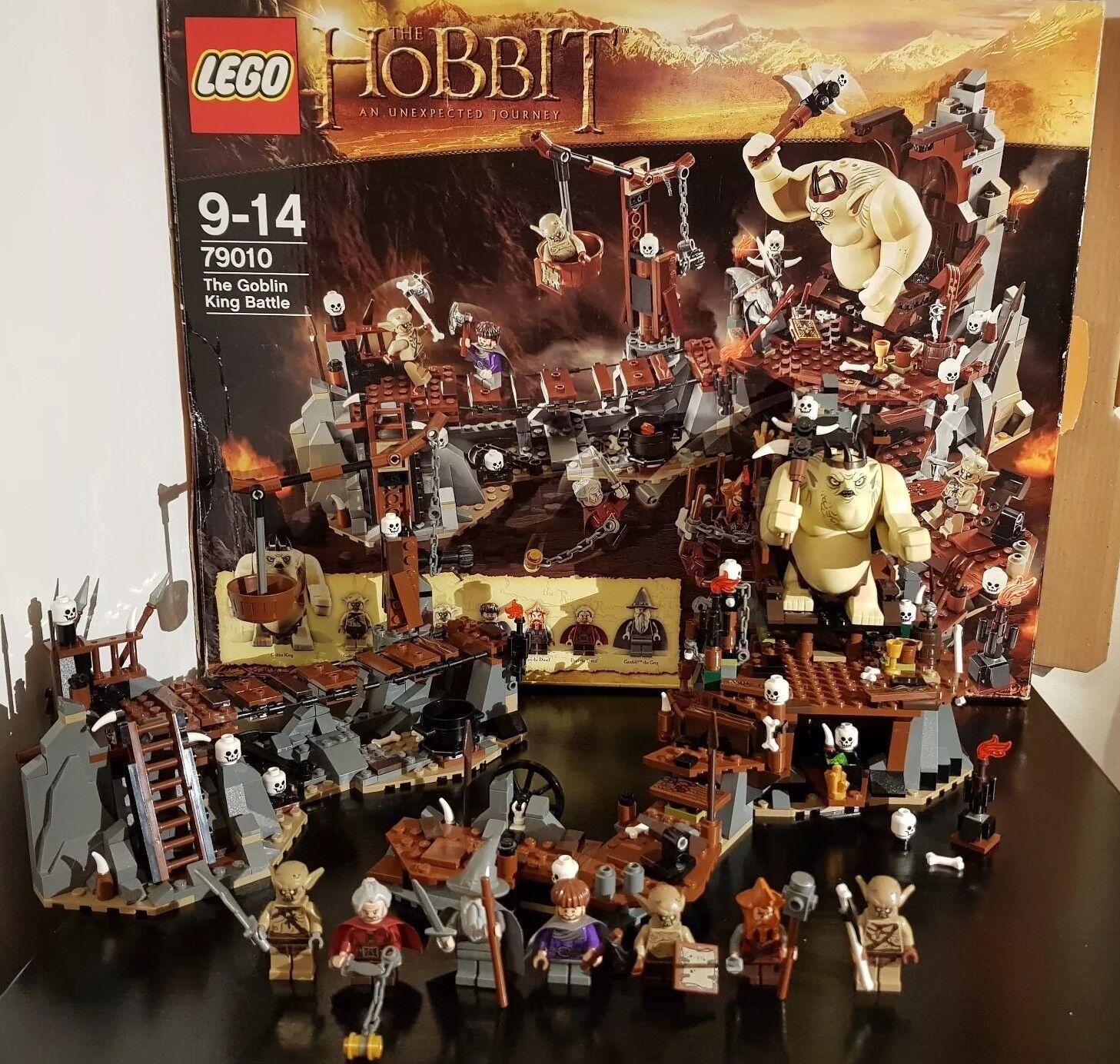 LEGO 79010 Lo Hobbit La battaglia Re Goblin 8 Minifigures Il Signore degli Anelli