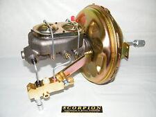 GM Power Brake Booster Delco Master Cylinder Disc/Drum Chevelle, Camaro, Nova,