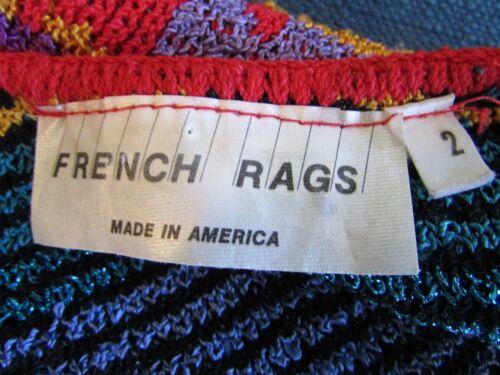di ovest Rags a motivo 2 sud For xl Sz di Brenda cardigan con Maglione French xHqw0fSYw