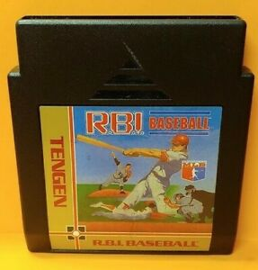 RBI Baseball R.B.I. - Nintendo NES Game Rare Tested Works Great Authentic
