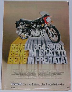 Advert-Pubblicita-1978-BENELLI-354-SPORT