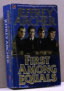 FIRST-AMONG-EQUALS-J-Archer-Libro