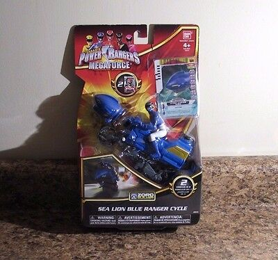 Power Rangers Megaforce Sky Lion Red Ranger Cycle Action Figure Zoro NEW