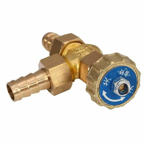 New Inline Needle Valve For Gas//Air//lpg Brass Parallel Angle Valve 6T