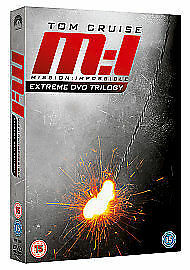 Mission: Impossible 1, 2 And 3 (DVD, 2011, 3-Disc Set, Box Set)  New and Sealed