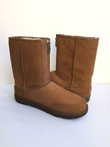 5f52f9ef719 Details about UGG MEN PHILLIP LIM CLASSIC SHORT ZIP CHESTNUT SUEDE Boot US  13 / EU 47 /UK 12