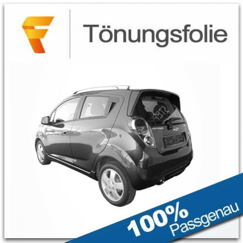 Passgenaue Tönungsfolie Chevrolet Spark Bj ab 2010