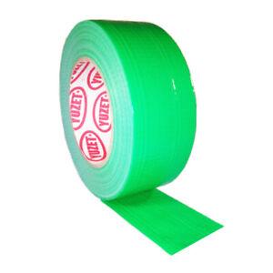 48mm-x-50m-Green-Yuzet-Duck-Duct-Gaffa-Gaffer-Waterproof-Cloth-Tape-1-2-4-612-24