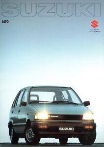 Brochure Prospectus 00603.84000.000.02850 Auto Symbol Der Marke Suzuki Alto Prospekt 1980er J Prospekte Automobilia