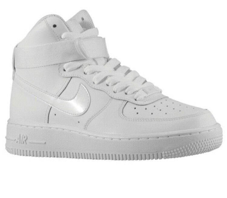 nike air force 1 high white size 4 boys