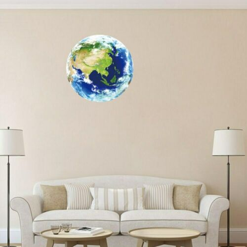 Hot Sale 3D Moon Luminous Wall Sticker Removable Glow in The Dark Sticker Home