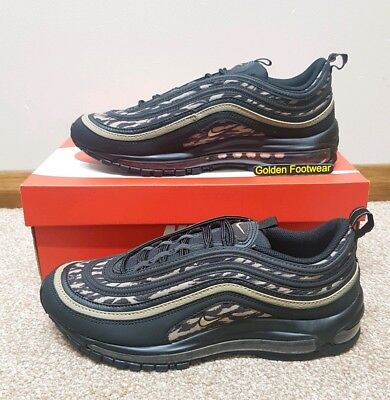Nike Mens Air Max 97 AOP *Rare* Black Tiger Camo