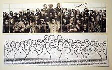 Timbre NADAR Personnages célèbres illustres MICHEL HOSSZÙ Delacroix Sand Manet