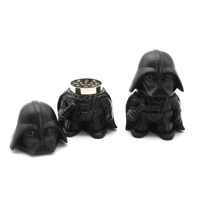 Star Wars Black Warrior Darth Vader Stormtrooper toy Metal Zinc Alloy Herb Weed
