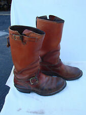 Vintage brown Wesco Boss Engineer Boots Mens Size 8 Motorcycle Work
