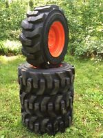 12-16.5 Carlisle Ultra Guard Skid Steer Tires/wheels/rims For Bobcat 12x16.5
