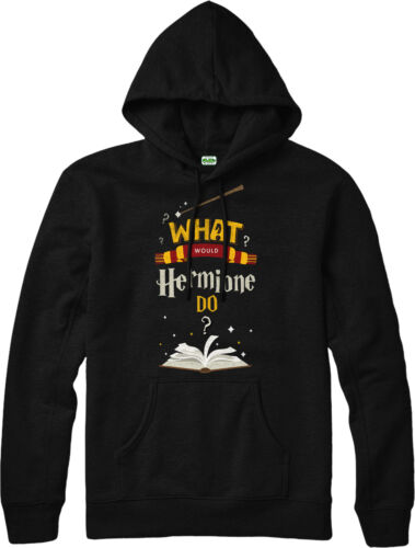Harry Potter Hoodie,What Would Hermione Do,Final Book,Adult and kids Sizes