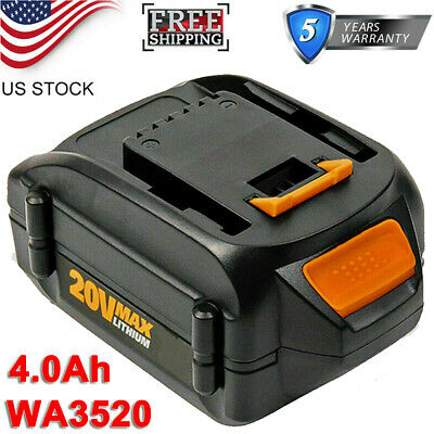 2-Pack WA3525 2.5Ah Battery for Worx 20V Battery Lithium WA3520 WA3575 WA3578 WG151s WG155s WG251s WG255s WG540s WG545s WG890 WG891