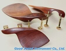 3pcs Rosewood violin Chin rest,4/4 with screw ,perfect workmanship