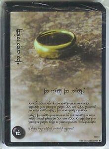 LOTR WAR OF THE RING FOIL TENGWAR ANTHOLOGY 18 CARD SET