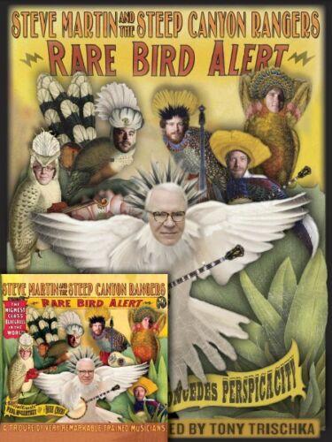 Steve Martin Rare Bird Alert Sheet Music Book CD Bundle Pack Book and  000642171
