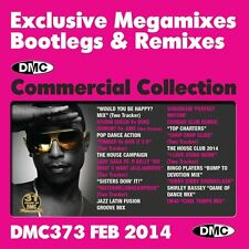 DMC Commercial Collection 373 Mixes, Megamixes & Two Tracker DJ Double Music CD