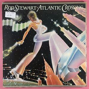 Rod-Stewart-Atlantic-Crossing-Riva-RVLP-4-Blu-Vinile-VG-Condizioni