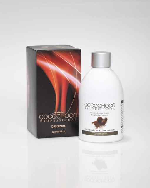 COCOCHOCO Brazilian Keratin Hair Straightening Treatment 250ml Bottle + Shampoo