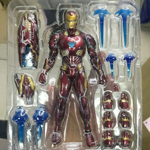 MARK50-Mk50-Marvel-Avengers-Infinity-War-Iron-Man-Action-Figure-Model-Gift