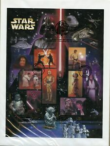 UNITED-STATES-2007-STAR-WARS-SHEET-FIRST-DAY-COVER
