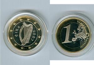 Irlande 1 Euro Pp/proof (sélectionnez Sous: 2007, 2009, 2015, 2016)-afficher Le Titre D'origine Oobtfyjg-08000016-464957656