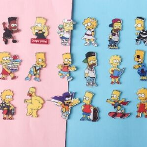 Mix-The-Simpsons-Animation-Badges-Acrylic-Pins-Brooch