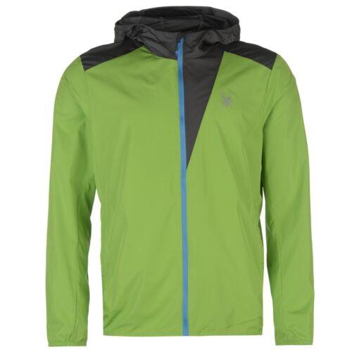Medium Green Full-Zip Hoodie Spyder Jacket
