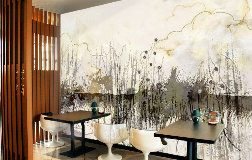 3D Ink Painting 753 Wall Paper Murals Wall Print Wall Wallpaper Mural AU Summer