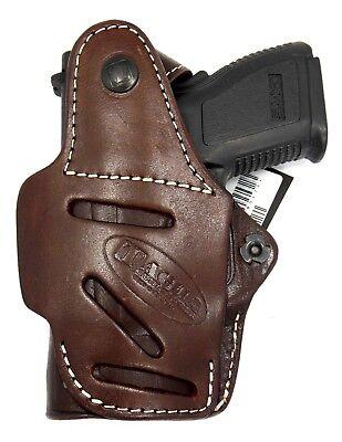 TAGUA PREMIUM Brown Leather Thumb Break Rotating PADDLE Holster SIG SAUER P238