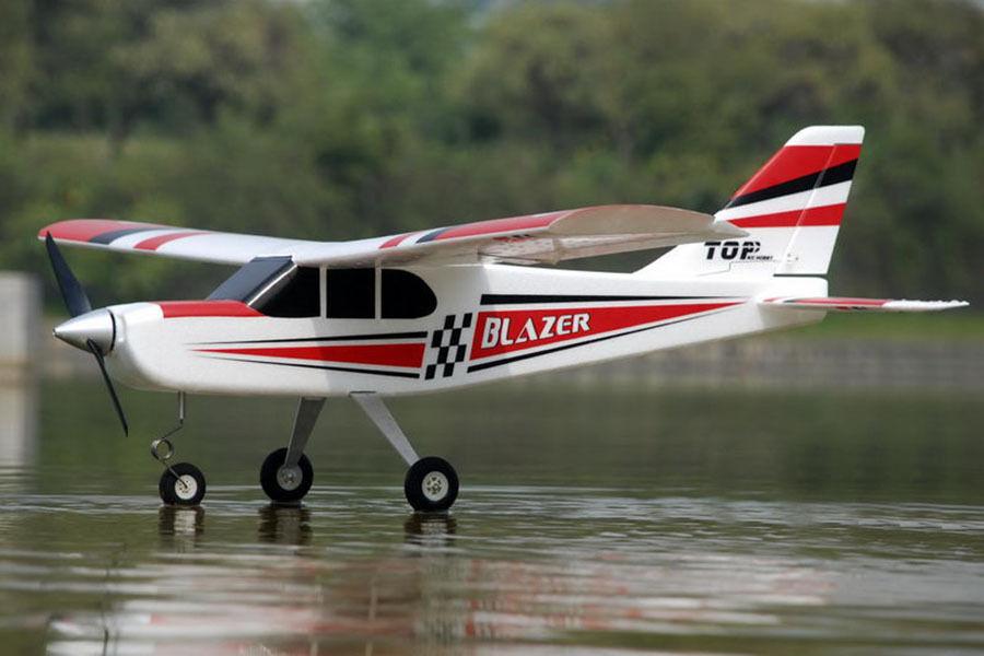 TOP Blazer hélice pnp arf avión RC modelo con motor Servo Motor Brushless Esc